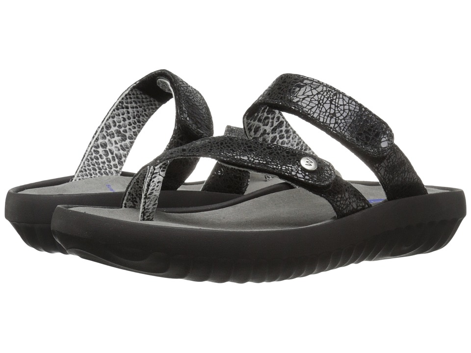 Wolky Bali Black Womens Sandals