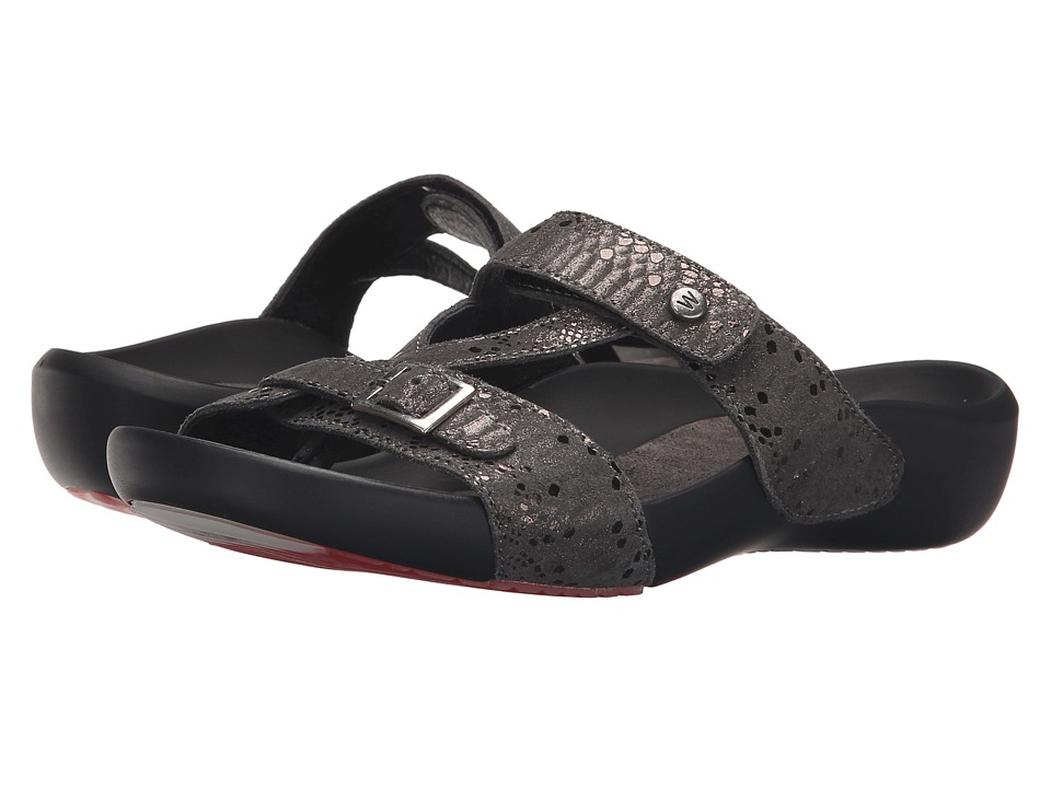 Wolky OConnor Anthracite Womens Sandals