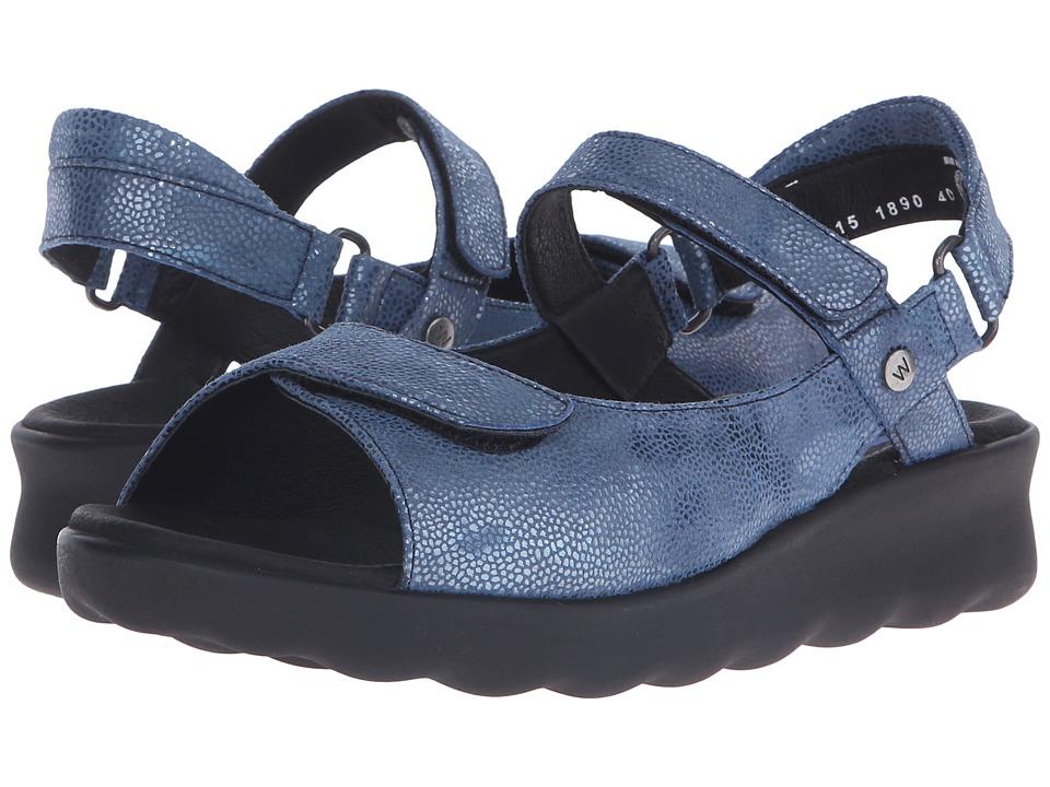 Wolky Pichu Ocean Womens Sandals