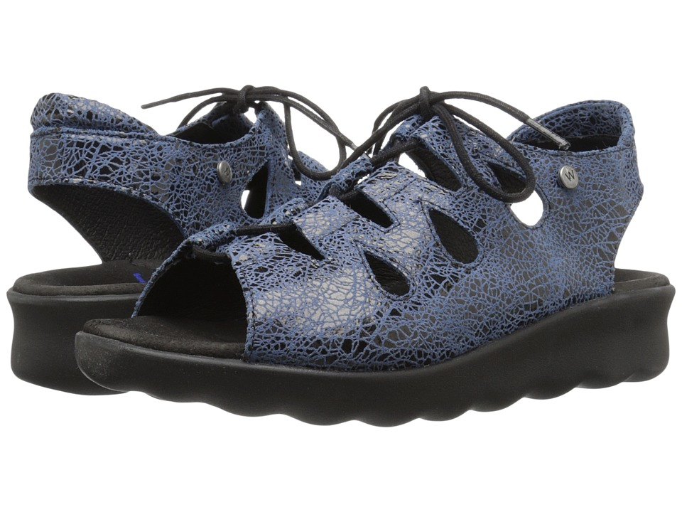 Wolky Natu Denim Womens Sandals