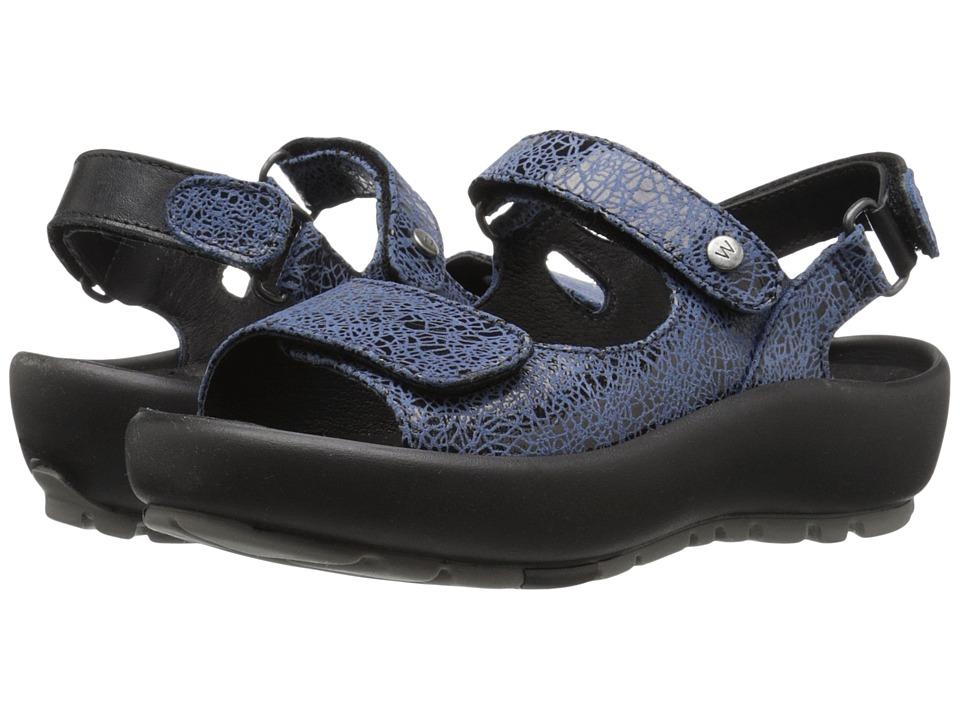 Wolky Rio Denim Womens Sandals