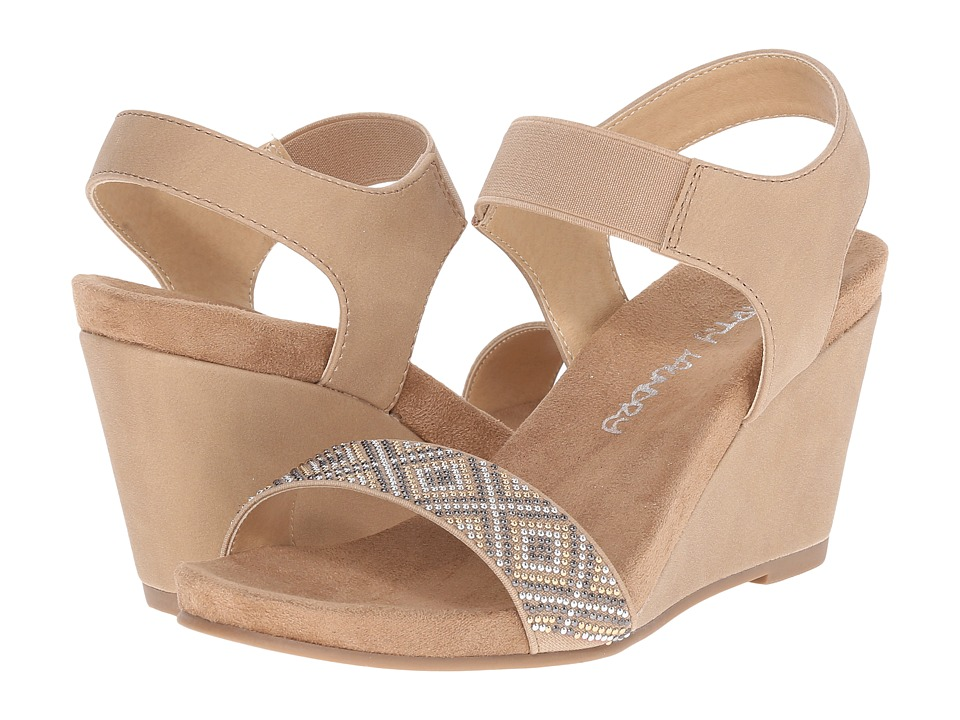 Dirty Laundry DL Beauty Mark Nude Womens Wedge Shoes