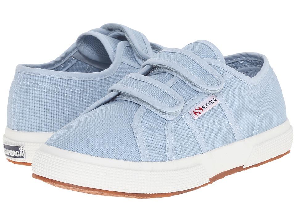 Superga Kids 2750 JVEL Classic Infant/Toddler/Little Kid/Big Kid Light Marine Girls Shoes