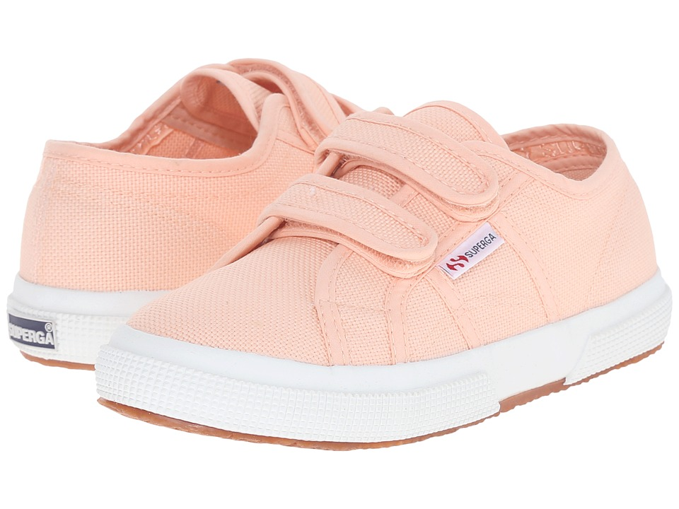 Superga Kids 2750 JCOT Classic Infant/Toddler/Little Kid/Big Kid Pink Peach Girls Shoes