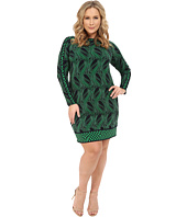 MICHAEL Michael Kors - Plus Size Boatneck Boudoir Dress