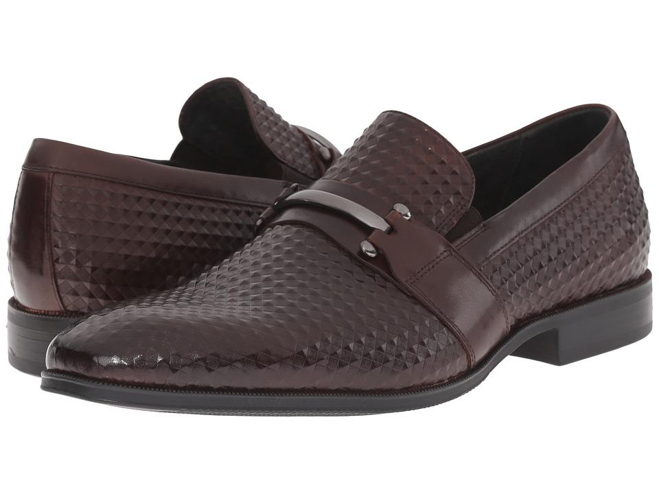 Stacy Adams Fiero Brown Mens Plain Toe Shoes