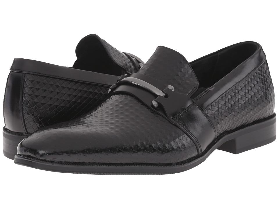 Stacy Adams Fiero Black Mens Plain Toe Shoes