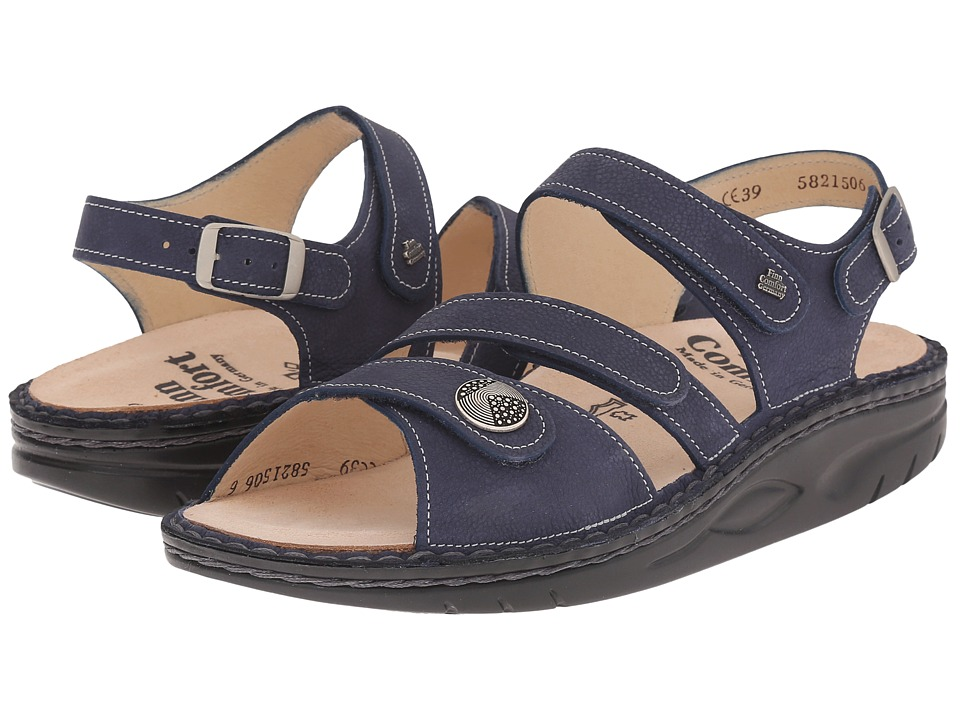 Finn Comfort Tiberias Lake Womens Toe Open Shoes