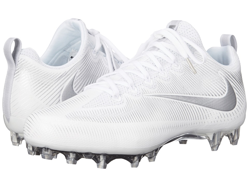 Nike - Vapor Untouchable Pro (White/Metallic Silver) Men