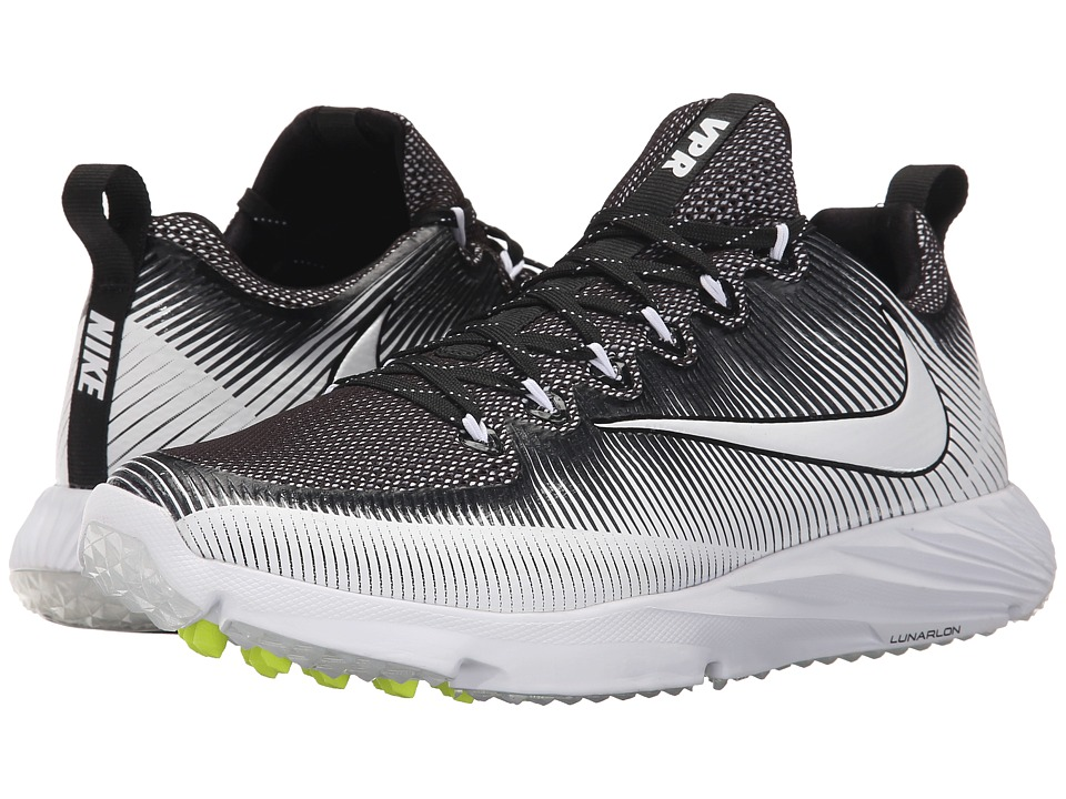 Nike - Vapor Speed Turf (Black/White/Black) Men