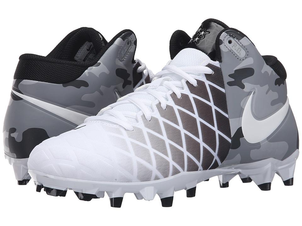 Nike Field General Pro TD (White/Black/Metallic Silver/White) Men