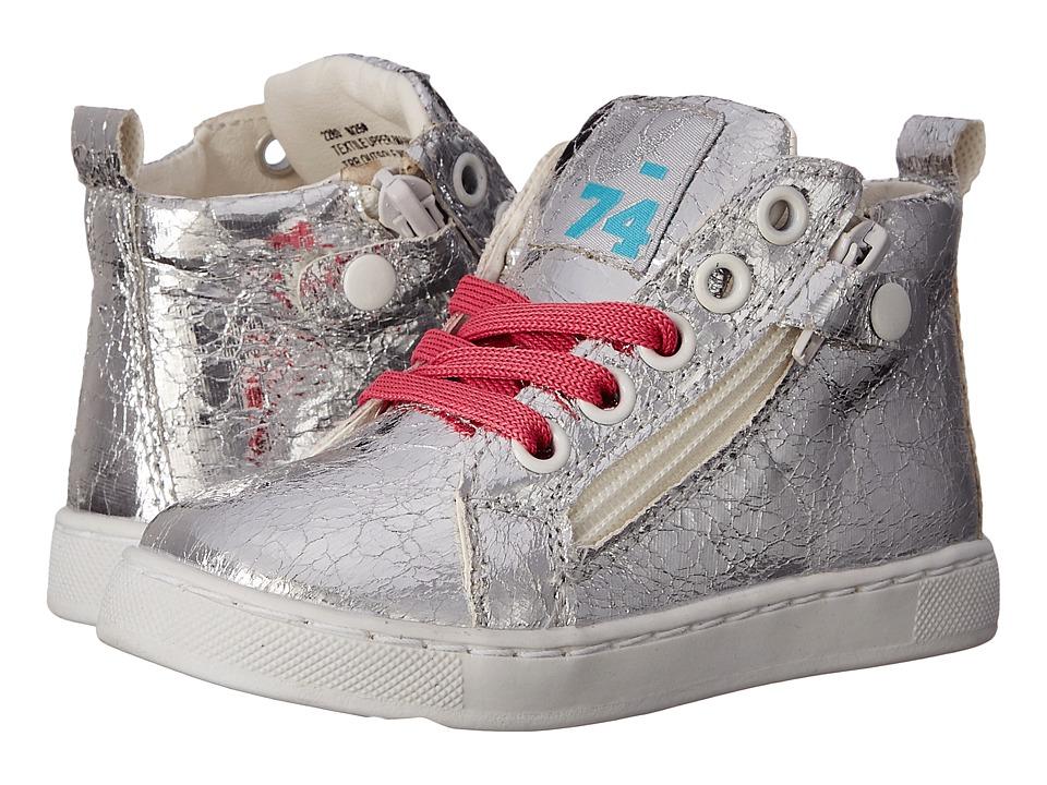 Naturino Nat. 2280 SS16 Toddler/Little Kid/Big Kid Silver Girls Shoes