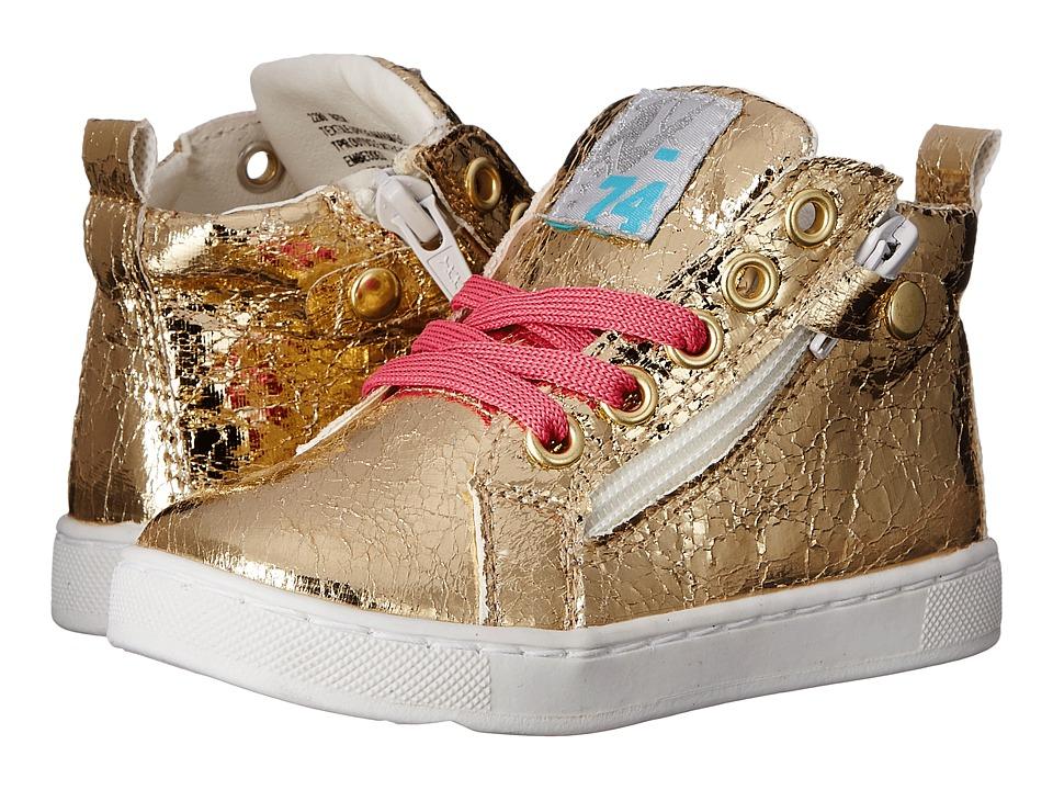 Naturino Nat. 2280 SS16 Toddler/Little Kid/Big Kid Gold Girls Shoes