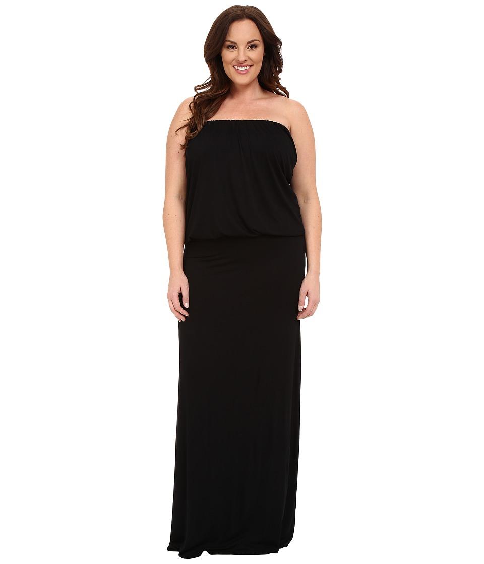 Culture Phit Plus Size Riena Maxi Dress Black Womens Dress