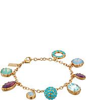 COACH - Multi Rhinestone Charm Bracelet