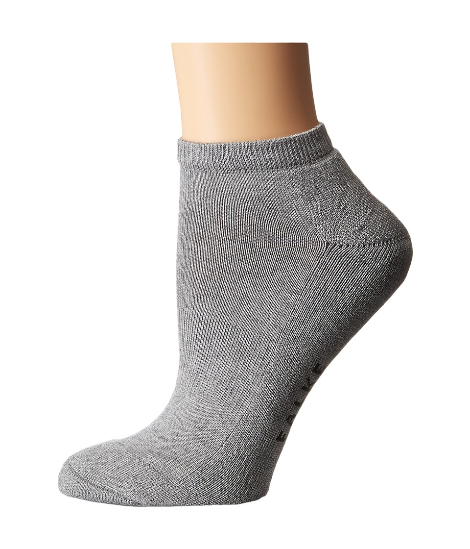 Falke Cosy Sneaker Sock Grey Womens Crew Cut Socks Shoes