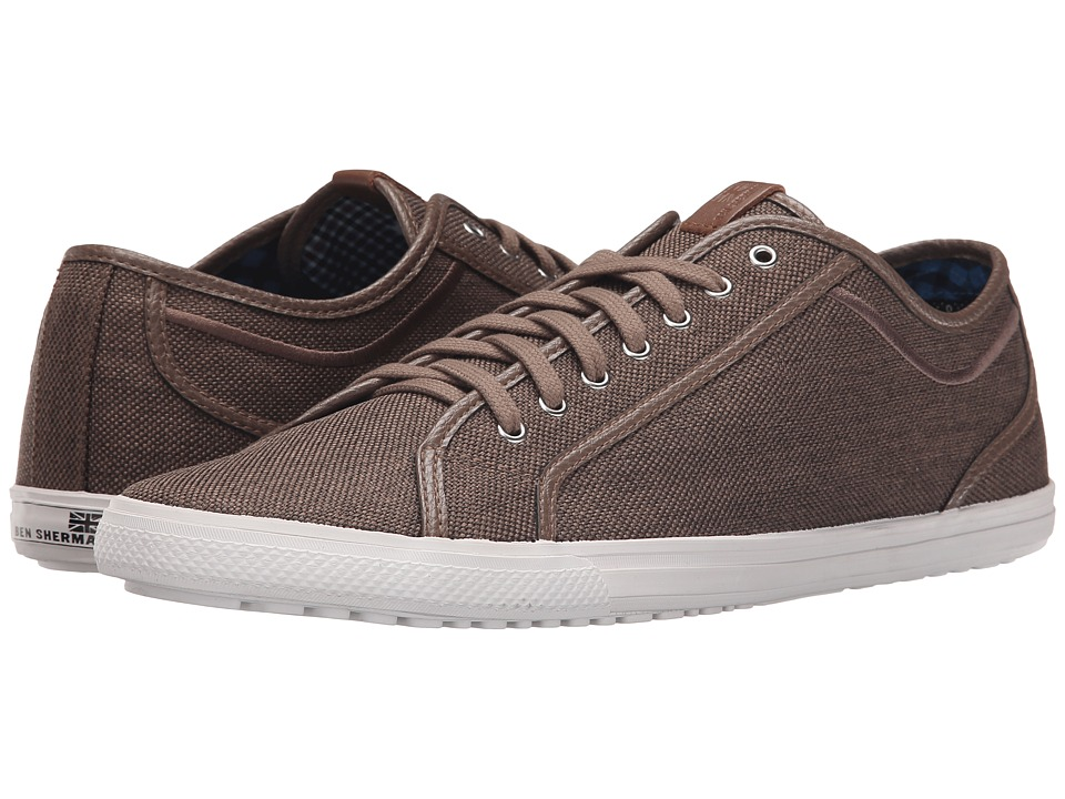 Ben Sherman Chandler Lo Taupe Mens Lace up casual Shoes