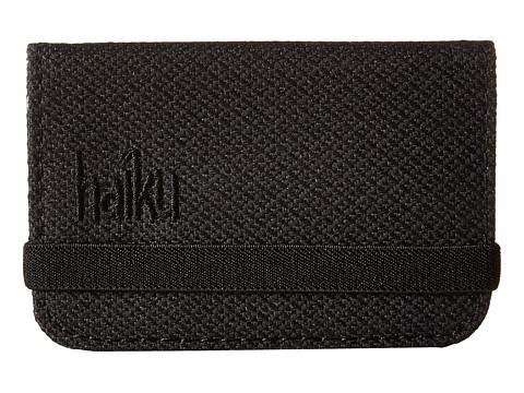 Haiku RFID Mini Wallet - Black Juniper
