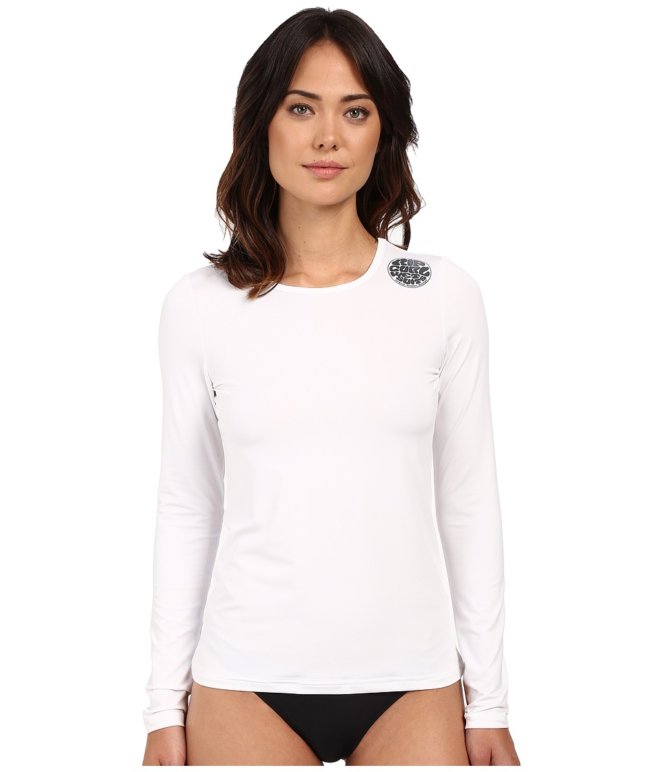 Rip Curl Whitewash Loose Fit Long Sleeve (White)