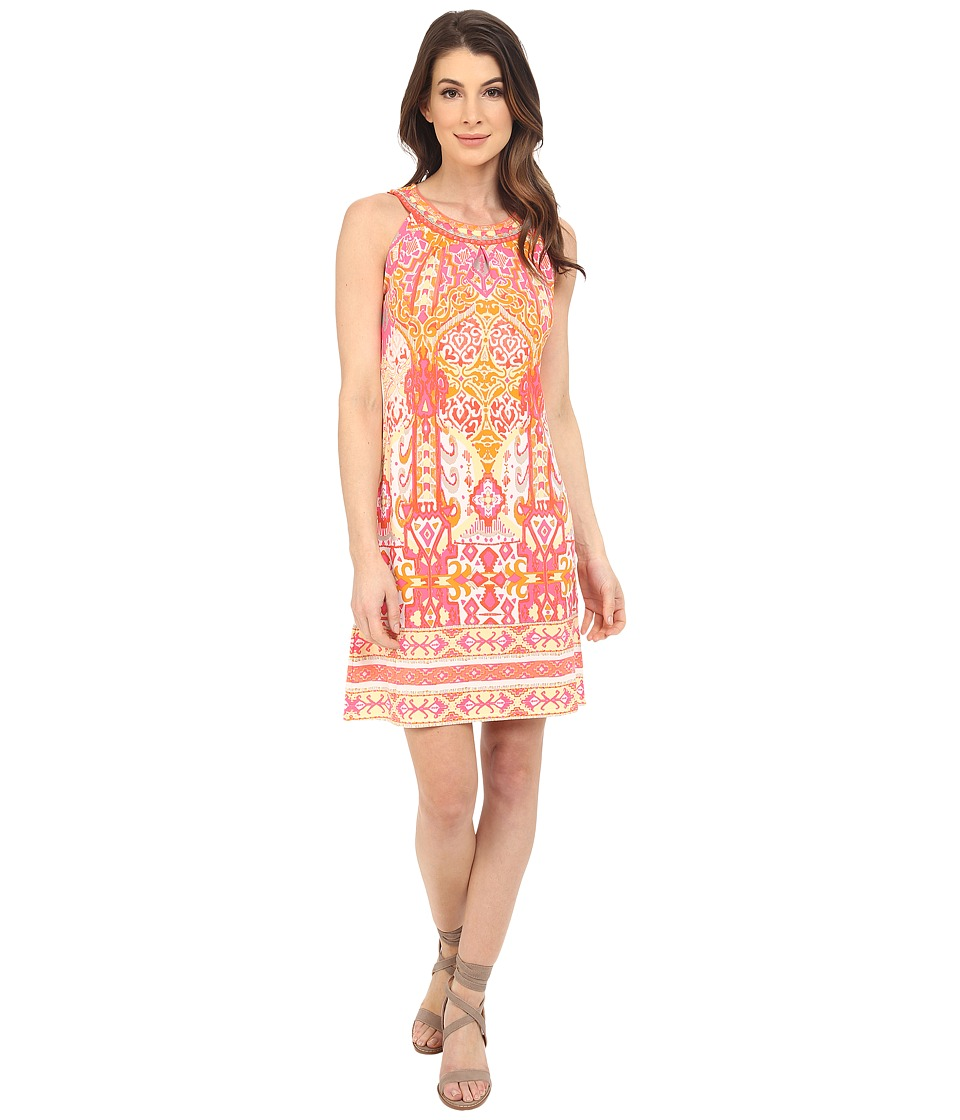 Hale Bob Eye Candy Dress Coral Womens Dress
