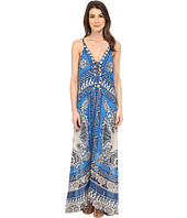 Hale Bob - Floral Fusion Silk Maxi Dress