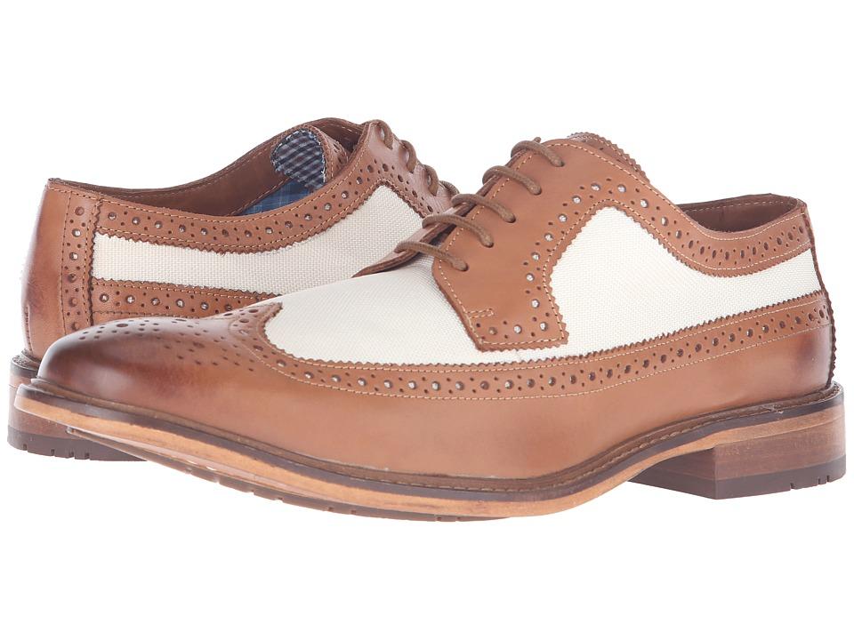 Ben Sherman - Marc Linen Mens Lace Up Wing Tip Shoes $160.00 AT vintagedancer.com