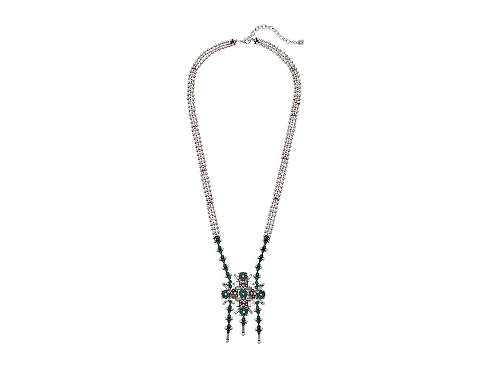 DANNIJO MAURA Necklace Emerald Necklace
