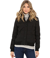 Levi's® - Shortie Hooded Puffer Bomber w/ Faux Fur