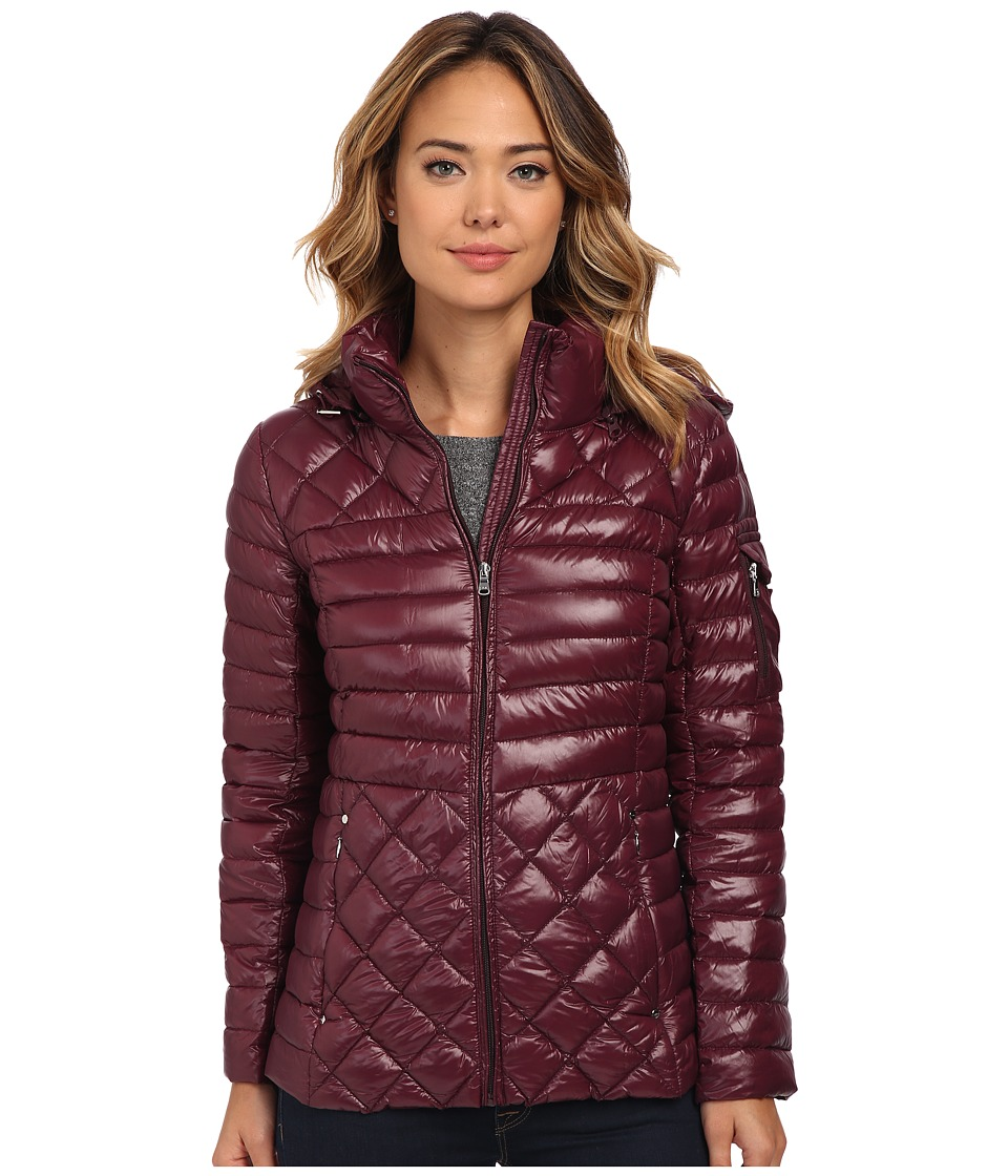 LAUREN Ralph Lauren - Packable Down with hood (Wine) Women