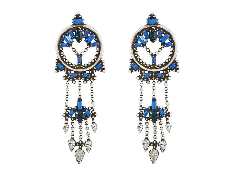 DANNIJO CLAUDIA Earrings Asst Blue Earring