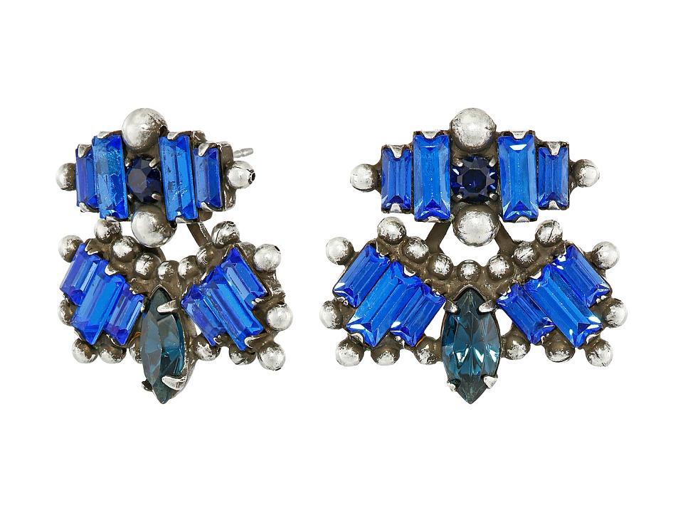 DANNIJO SARRAH Earrings Asst Blue Earring
