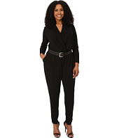 MICHAEL Michael Kors - Plus Size Belted Jumpsuit