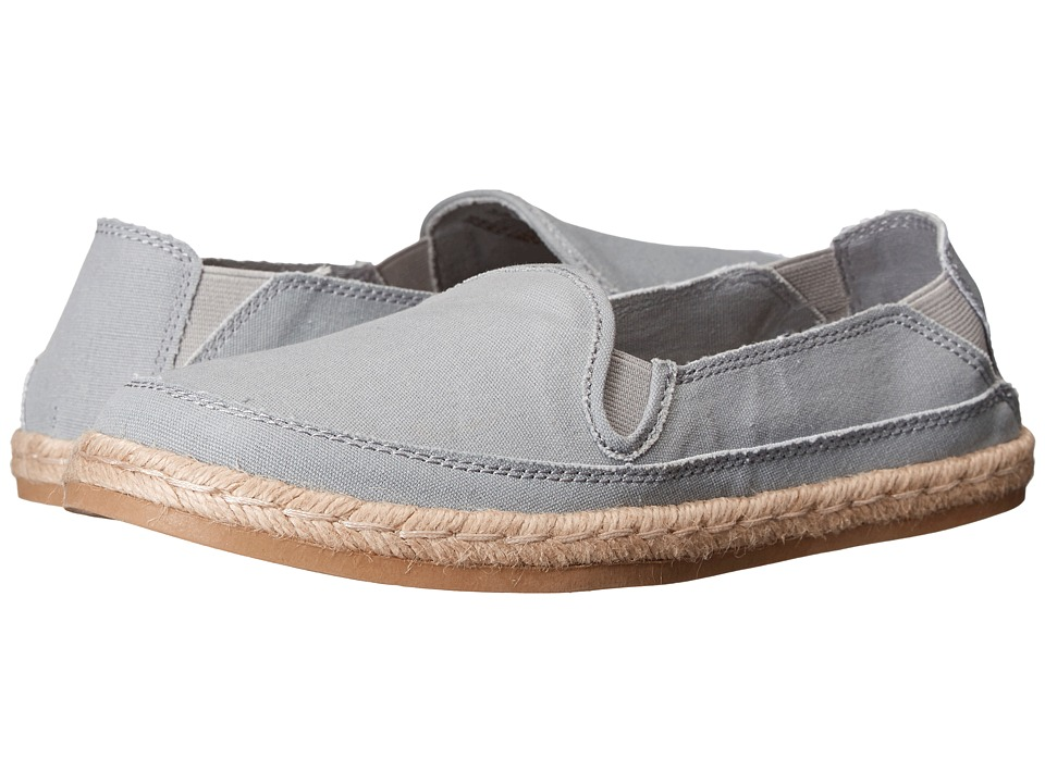 Hush Puppies Cassie Kelli Grey Leather/Suede Womens Slip on Shoes