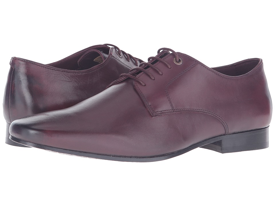 Ben Sherman Fredrick Oxford Burgundy Mens Lace up casual Shoes