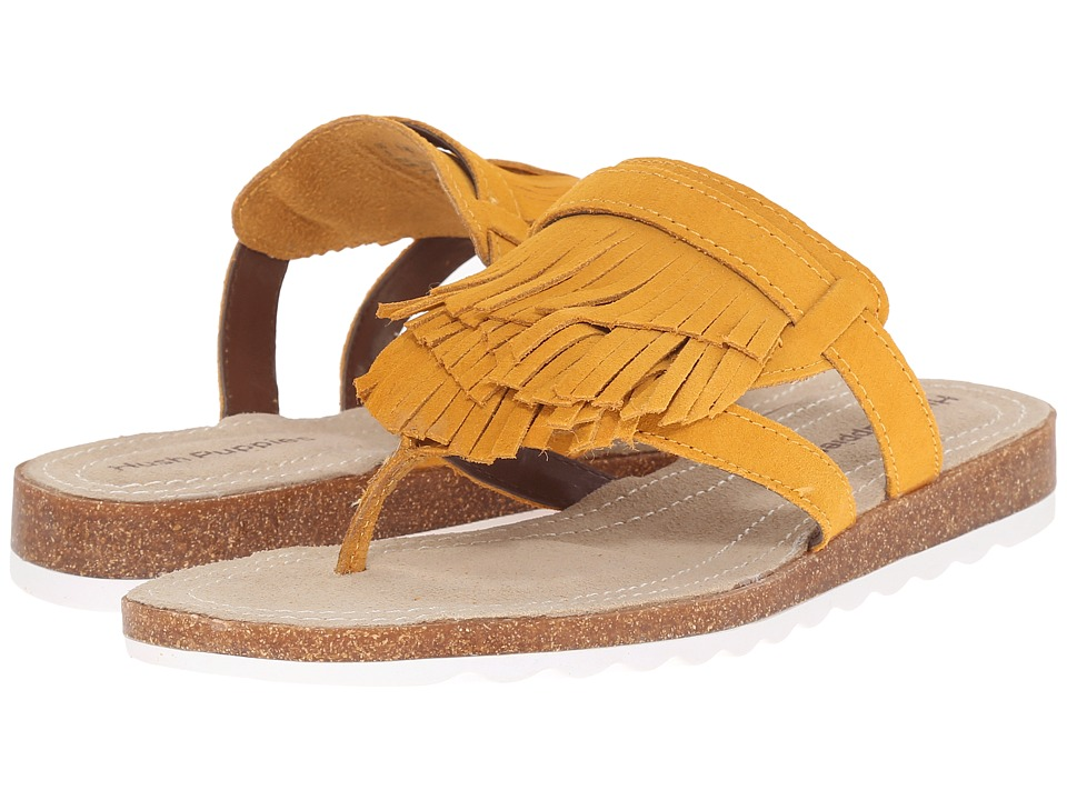 Hush Puppies Bryson Jade Warm Yellow Womens Sandals