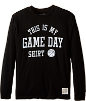 The Original Retro Brand Kids - This Is My Game Day Long Sleeve T-Shirt (Big Kids)