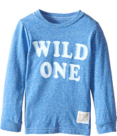 The Original Retro Brand Kids - Wild One Long Sleeve Tee (Toddler)