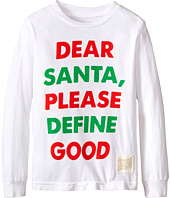 The Original Retro Brand Kids - Dear Santa Long Sleeve Tee (Little Kids/Big Kids)