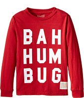 The Original Retro Brand Kids - Bah Hum Bug Long Sleeve Tee (Little Kids/Big Kids)