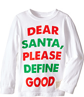 The Original Retro Brand Kids - Dear Santa Long Sleeve Tee (Toddler)