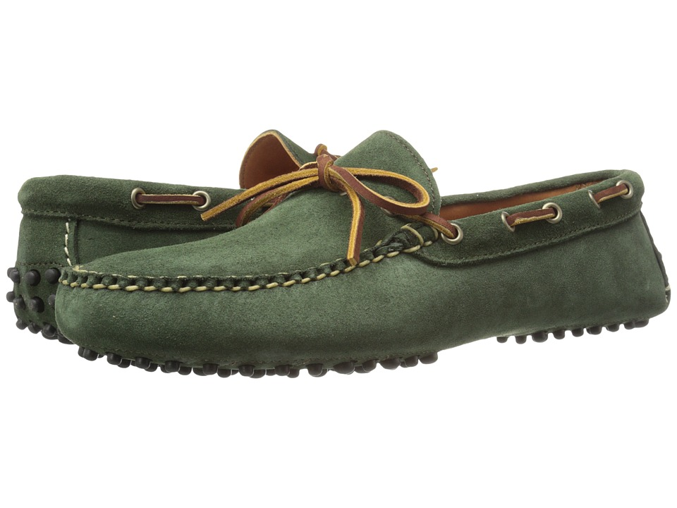 Eastland 1955 Edition Blanchard USA Hunter Green Suede Mens Moccasin Shoes