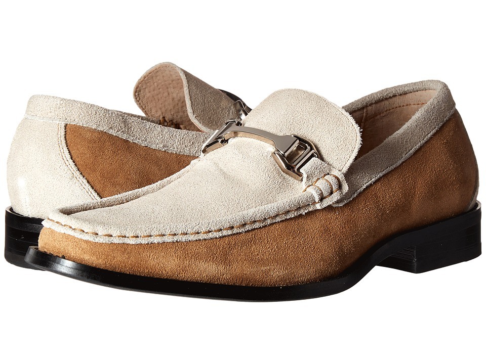 Stacy Adams - Flynn (Sand/Oyster Suede) Men