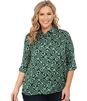 MICHAEL Michael Kors - Merver Hi-Lo Button Down Top