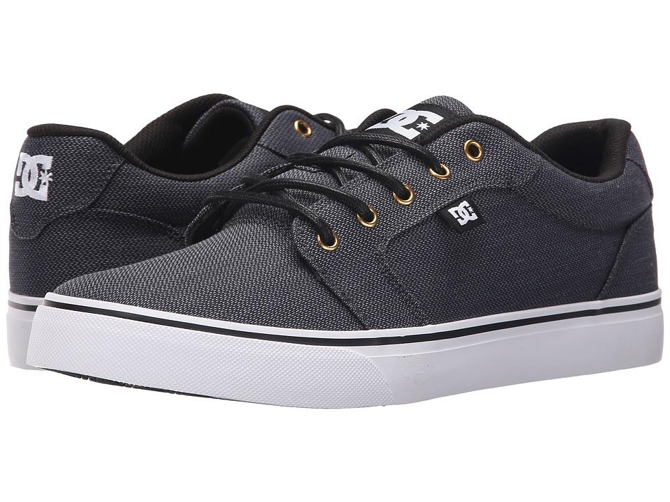 DC Anvil TX SE Black/Gunmetal/White Mens Shoes