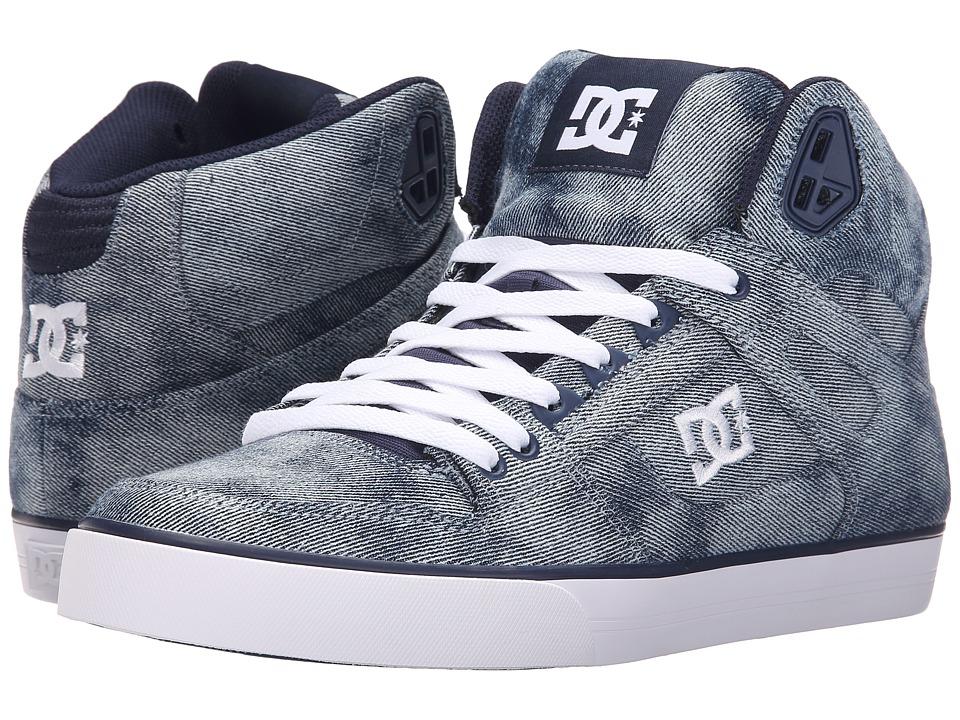 DC - Spartan High WC TX SE (Indigo) Mens Skate Shoes