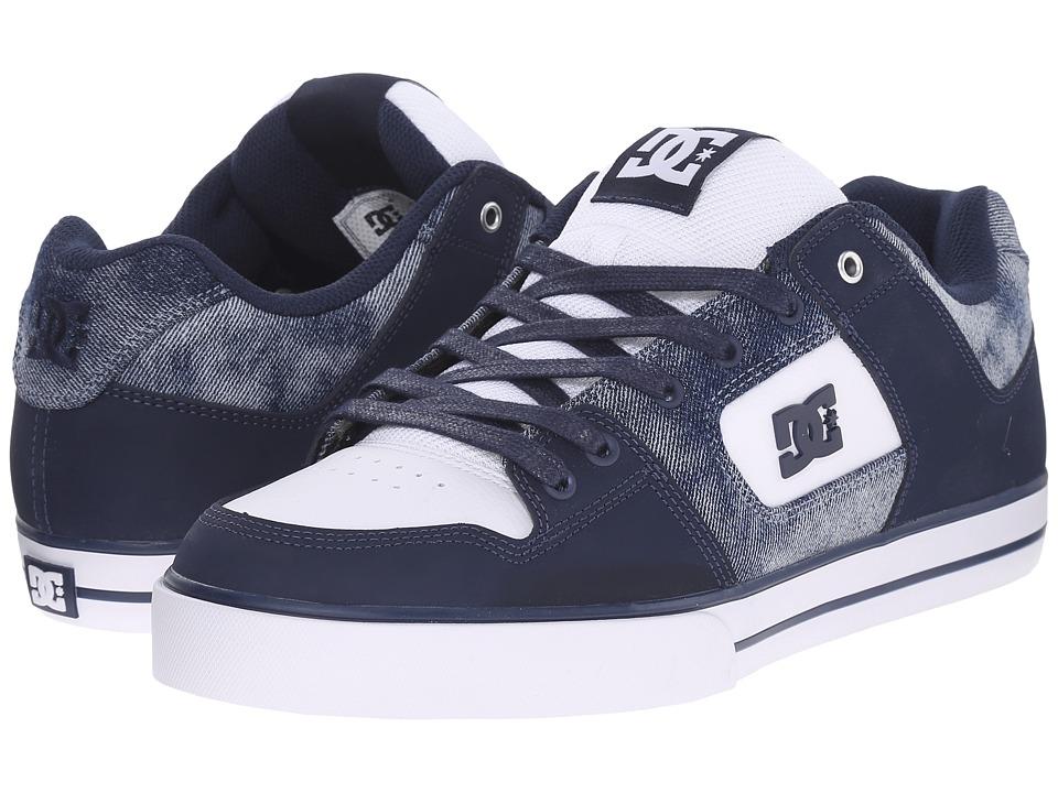 DC Pure SE Denim Mens Skate Shoes
