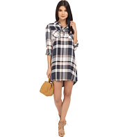 Jack by BB Dakota - Midge Drapy Soft Hand Plaid Shirtdress
