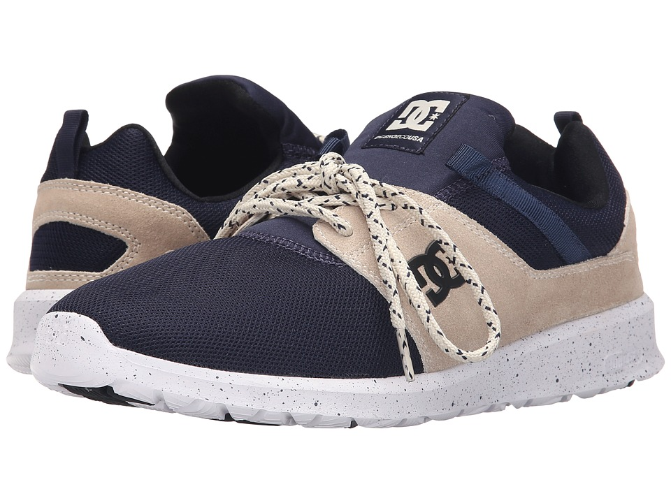 DC Heathrow SE Navy/White Skate Shoes