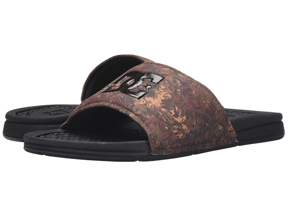 DC Bolsa Camo Black Mens Sandals