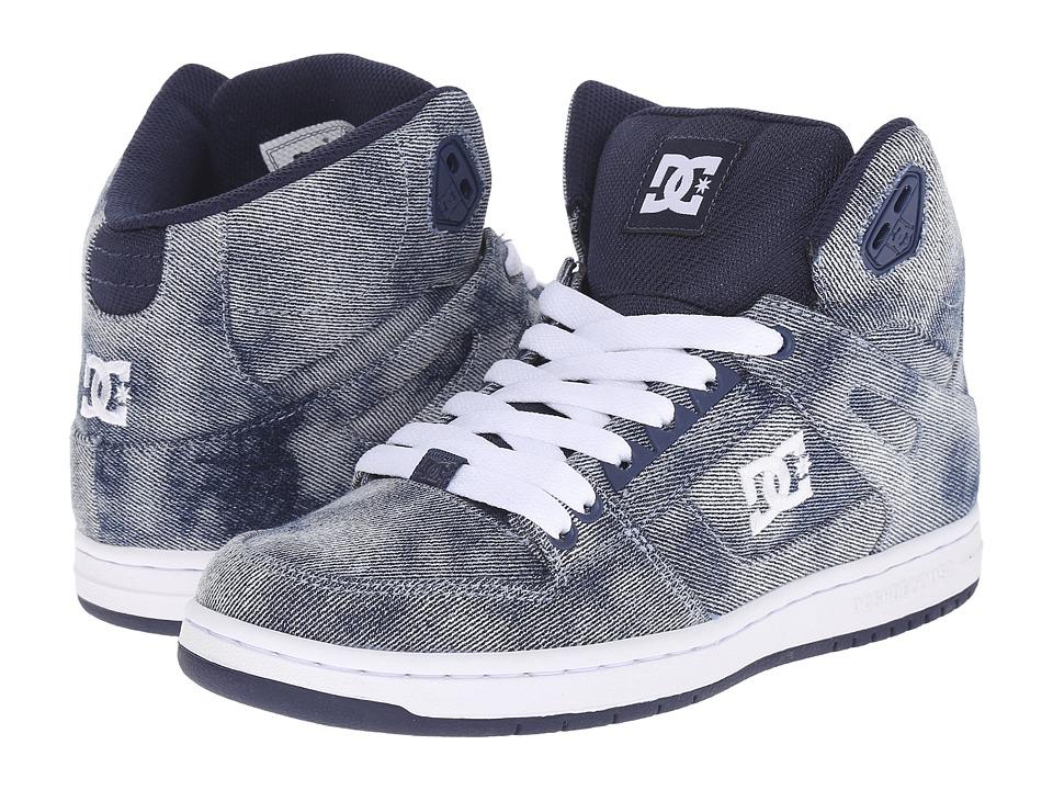DC Rebound Hi SE W Denim Womens Skate Shoes
